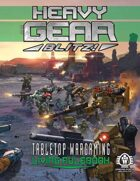 Heavy Gear Blitz! Tabletop Wargaming - Living Rulebook Beta