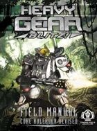 Heavy Gear Blitz! Field Manual - Core Rulebook Revised