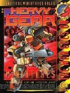 Heavy Gear Miniature Rules 2nd Edition