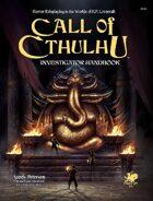 Call of Cthulhu Investigator Handbook 7th Edition