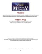 Miskatonic Repository InDesign Template