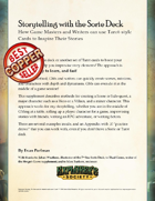 Storytelling with the Sorte Deck: Using the Cards to Inspire Your Stories