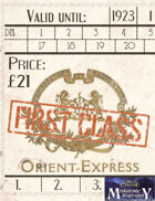 Orient Express tickets