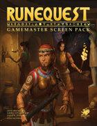 RuneQuest - GameMaster Screen Pack