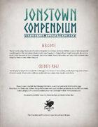 Jonstown Compendium Templates