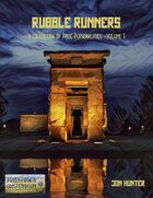 Rubble Runners - A collection of Pavis Characters