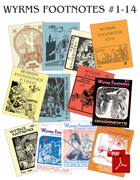 Wyrms Footnotes #1-14 Bundle