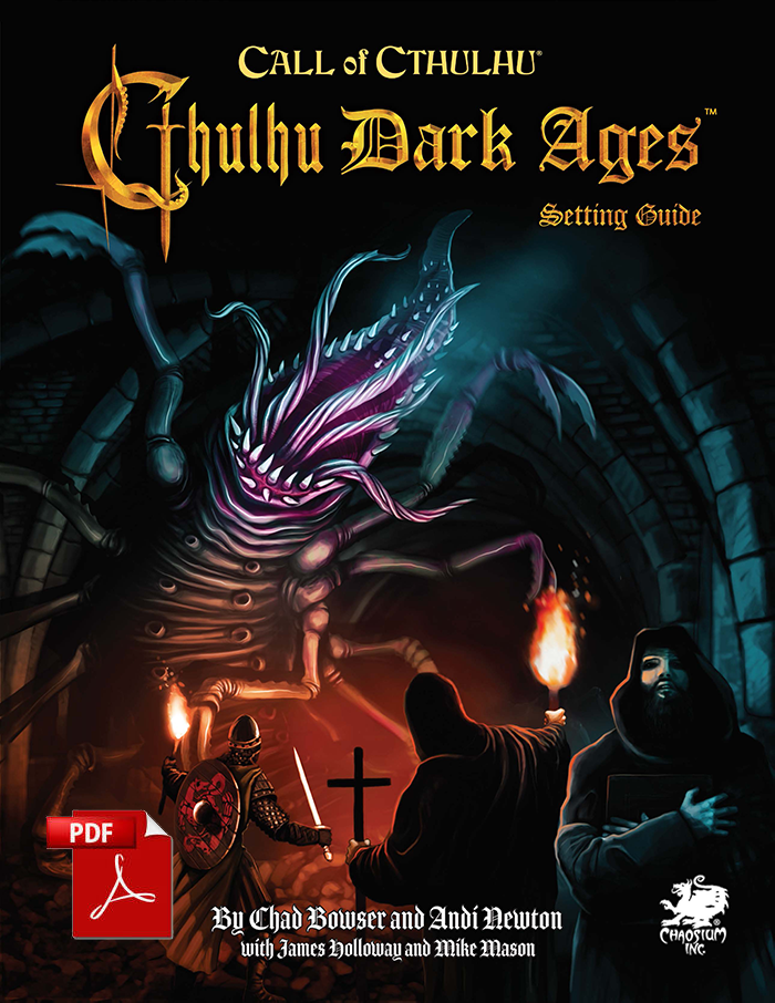 Cthulhu Dark Ages Third Edition