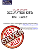 Call of Cthulhu Occupation Kits - The Bundle!