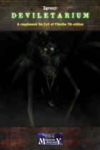 Deviletarium - a Zgrozy supplement