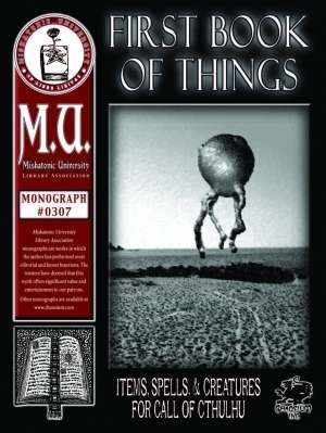 First Book of Things