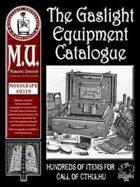The Gaslight Equipment Catalogue