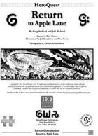 Return to Apple Lane - Demo Scenario