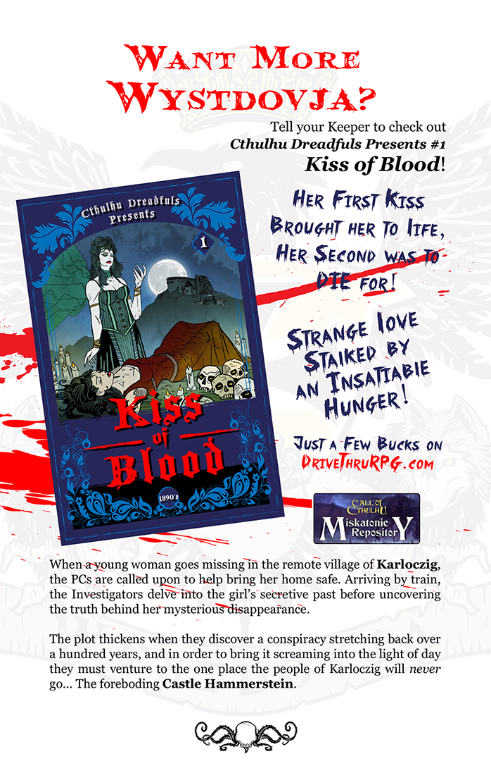 Promo for Kiss of Blood