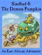 Sindbad and the Demon Pumpkin