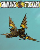 Steampunk Fighter Ship 2