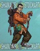Solo Char-Monk Traveller