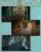 Fantasy Backgrounds : Tombs