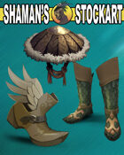 Fantasy Boots and Hat