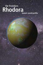 Far Frontiers: Rhodora