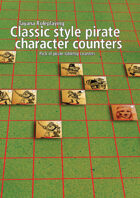 TayanaRPG Classic Styled Pirate Character counters