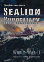SeaLion Supremacy: World War 2 naval wargaming rulebook