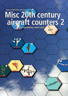 Misc 20th century aircraft counters pack 2