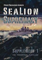 SeaLion Supremacy Supplement 1 Forgotten Flotillas