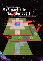 FSpaceRPG 5x5 park tile builder set 1