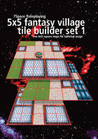 FSpaceRPG 5x5 village tile builder set 1