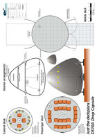 Drop Capsule DS10A ship plans sheet