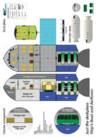Ships Boat and AirRover ship plans sheet