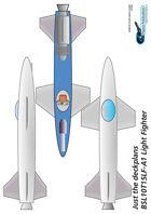 BSL10T15LF-A1 Light Fighter ship plans sheet