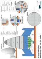Moontrader 100ton trader ship plans sheet