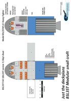 BSL35T Modular small craft ship plans sheet