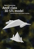 Anvil class 3D STL model