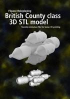 County class 3D STL model