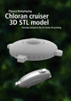 Chloran Cruiser 3D STL model