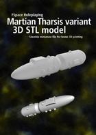 Martian Tharsis Corvette variant 3D STL model