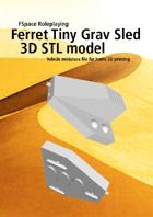 Ferret Tiny Grav Assault Sled 3D STL model
