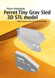 Ferret Tiny Grav Assault Sled 3D STL model