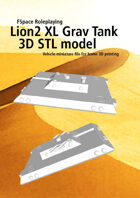 Lion 2 Extra Large Grav Tank 3D STL model
