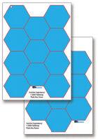 SeaLion Supremacy 1-3000 plain A3 hex bases