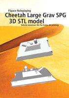 Cheetah Large Grav SPG 3D STL model