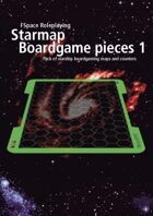 FSpaceRPG Starmap Boardgame pieces 1