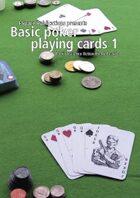 Basic poker playing cards 1