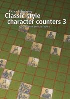 FSpaceRPG Classic style character counters 3 - Aliens
