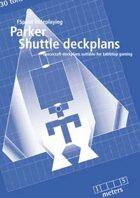 Parker Shuttle deckplans