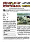 Wisdom from the Wastelands Issue #7: Planar Creatures & Concepts