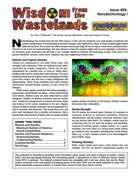 Wisdom from the Wastelands Issue #28: Nanotechnology I